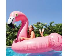 Intex Matratze 56288 rosa Flamingo riesigen aufblasbaren Pool-Party...