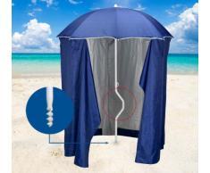 Strandschirm leicht patentierte Sonnenschirm mit UV Schutz und zelt...