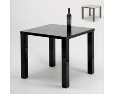 Tisch glänzend quadratisch 85x85 cm für Café Restaurant Zuhause Woh...