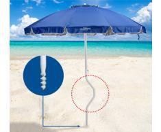 Strandschirm leicht patentierte Sonnenschirm mit UV Schutz GiraFaci...
