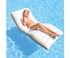 Wave Lounge Intex 56861 aufblasbare Matratze Ergonomischer Liegestuhl