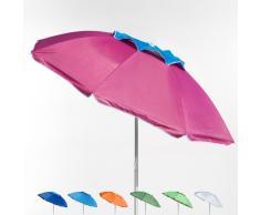 Strandschirm Sonnenschirm licht alu windsicher UV Schutz 180 cm COR...