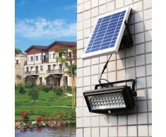 Wandleuchte Außen Garten LED Solarleuchte Solarlampe Bewegungsmelde...