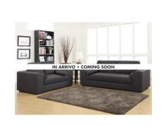 2 Sofas 3 + 2-Sitzer Stoff mit Armlehnen für Wohnzimmer zu Hause PE...