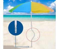 Strandschirm leicht Sonnenschirm GiraFacile 180 cm