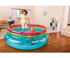 Intex 48267 Jump-O-Lene Trampolin aufblasbare Kinder