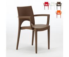 Polypropylen Stuhl mit Armlehne für Café und Restaurant Grand Solei...