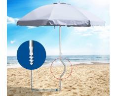 Strandschirm leicht patentierte Aluminium Sonnenschirm mit UV Schut...