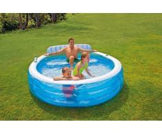 Intex 57190 Aufstellpool Quick up pool Kleiner Rund 224x216x76