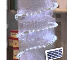 Solarmodul LED Lichtschlauch Outdoor Weihnachtsbeleuchtung außen