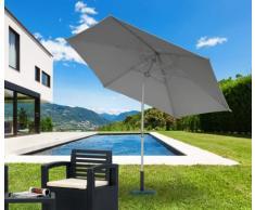 Gartenschirm 3m Sonnenschirm Alu UV Schutz EDEN