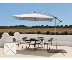 Ampelschirm quadratisch 2,5x2,5 Garten Bar Pendelschirm Alu UV Schutz