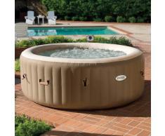 Intex 28404 Whirlpool PureSpa Bubble Spa Aufblasbarer rundes Becken...
