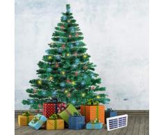 CORTINA 210 cm synthetischen künstlichen Weihnachtsbaum mit Solar-L...