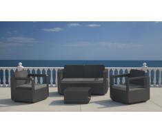 Polyrattan Gartensitzgruppe Lounge Gartenmöbel outdoor bar VENUS
