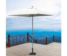 Gartenschirm quadratisch 2x2 Sonnenschirm Alu UV Schutz PLUTONE