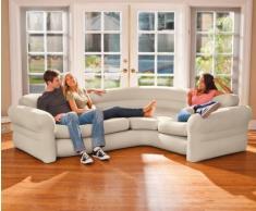 Intex 68575 aufblasbares Sofa Aufblasmöbel Loungen Ecksofa