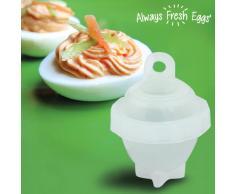 Bigbuy Always Fresh Eggs Eierkocher (6 Stueck) 200 Gr