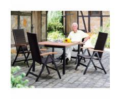 Gartenmöbel-Sitzgruppe, 5 teilig