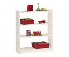Bücherregal mit 2 Böden, versch.Farben, Steens Axel,