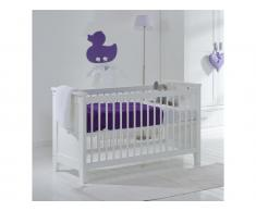 Babybett Elegance Snow white, 60x120cm, Lattenrost 3x verstellbar ALTA furniture,
