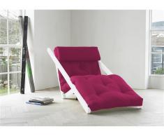 Futon Lounge Sessel, Gestell Kiefer, Farbe Weiß, Karup FIGO, In verschiedenen Farben erhältlich