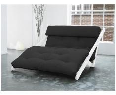 Futon Lounge Sofa, Gestell Kiefer, Farbe Weiß, Karup FIGO, In verschiedenen Farben erhältlich