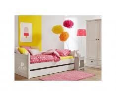 Bettcouch Weiß Snow white, 90x200cm, ALTA furniture,