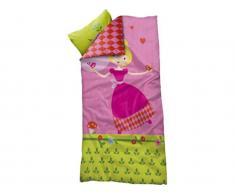 Bettwäsche für Kinderbett, Flexa Prinzessin, Deckenbezug 140x200cm; Kopfkissenbezug 50x70cm
