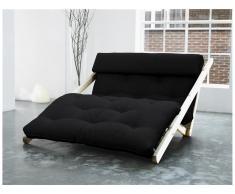 Futon Lounge Sofa, Gestell Kiefer Unbehandelt, Karup FIGO, In verschiedenen Farben erhältlich