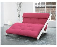 Futon Lounge Sessel, Gestell Kiefer, Farbe Weiß, Karup FIGO, In verschiedenen Trend Farben erhältlich