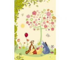 Winnie Cheerful Fototapete 127x184 cm