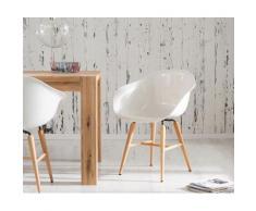 Kare Design Esszimmerstuhl Forum Wood White Weiss Hochglanz by Kare Design, Esszimmerstühle