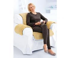 Avena Lammfell-Sesselauflage Polyester Beige