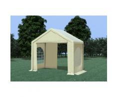 Partyzelt Pavillon 3x2m Modular Pro PVC wasserdicht beige