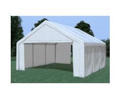 Partyzelt Pavillon 5x6m Modular Pro PE wasserdicht weiß