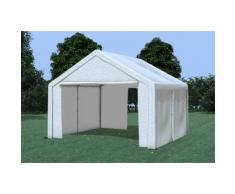 Partyzelt Pavillon 4x4m Modular Pro PE wasserdicht weiß
