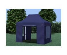 Faltpavillon ALU 3x2 m Professional blau wasserdicht Faltzelt