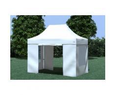 Faltpavillon ALU 3x2 m Professional weiß wasserdicht Faltzelt