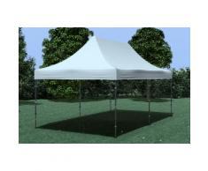 Faltpavillon Stahl 3x6 m Premium grau wasserdicht Faltzelt