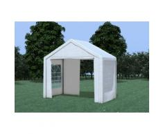 Partyzelt Pavillon 3x2m Classic Premium PVC wasserdicht weiß