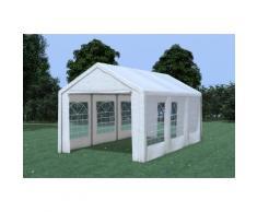 Partyzelt Pavillon 3x6m Classic Pro PE wasserdicht weiß