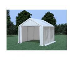 Partyzelt Pavillon 3x4m Modular Pro PVC wasserdicht weiß