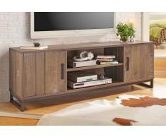 Home Affaire TV-Lowboard »Santo«, braun