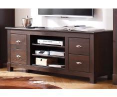 Home Affaire TV-Lowboard »Rauna«, braun, pflegeleichte Oberfläche