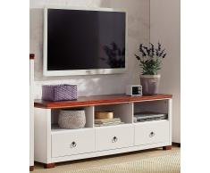 Home Affaire TV-Lowboard »Gotland«, weiß