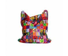 Sitting Bull Fashion Bag Mini Sitzsack für Kinder, Heartbeat, Herzmuster