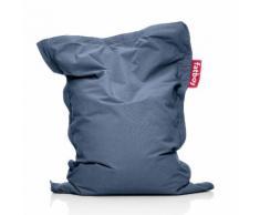 Fatboy Junior Stonewashed Sitzsack für Kinder, silbergrau
