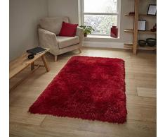 Think Rugs Teppich, rot, 60 x 120 cm