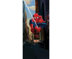 AG Design FTDv 1817 Spider-Man Marvel, Papier Fototapete Kinderzimmer - 90x202 cm - 1 Teil, Papier, multicolor, 0,1 x 90 x 202 cm